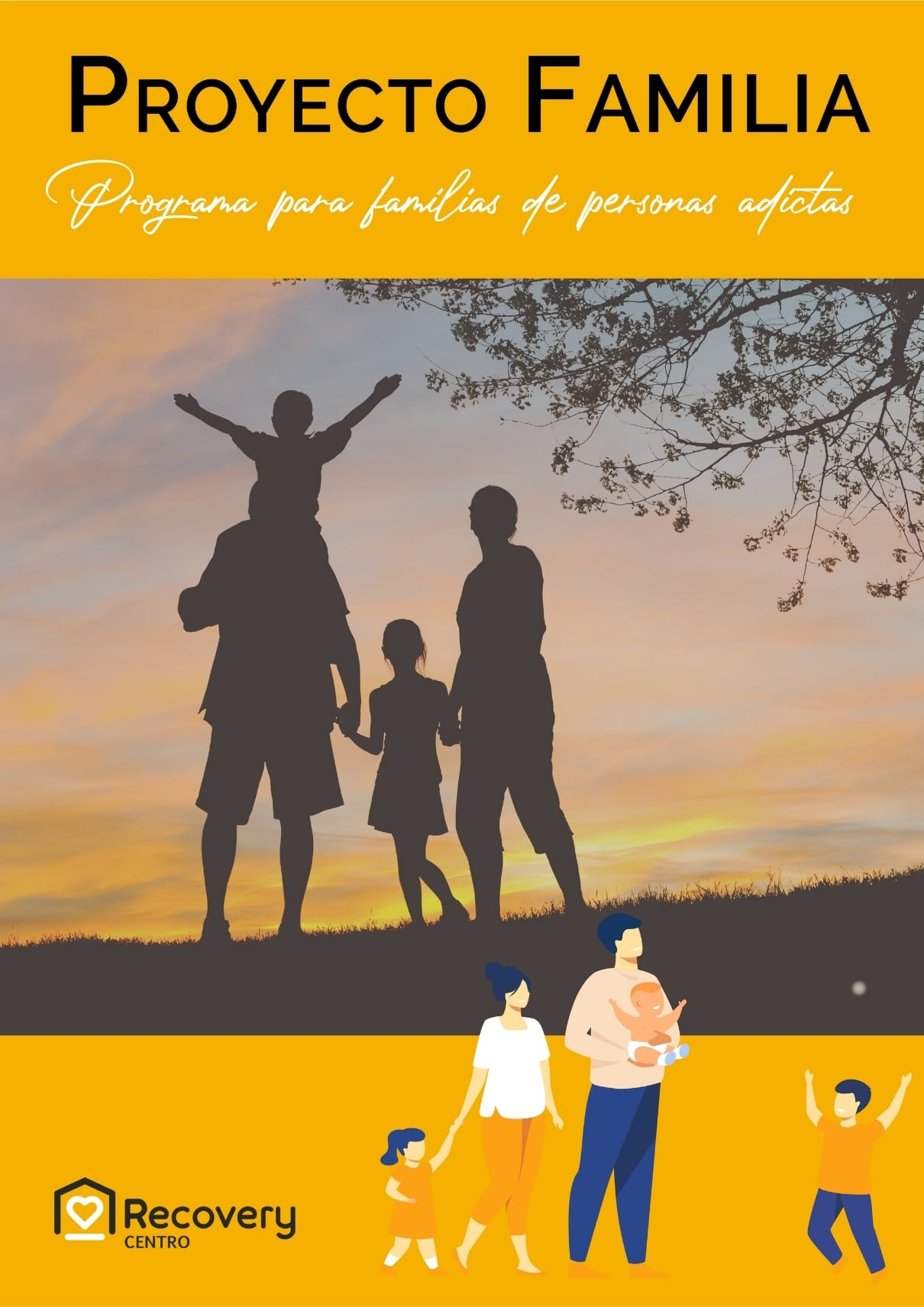 Proyecto ayuda familia Recovery Centro